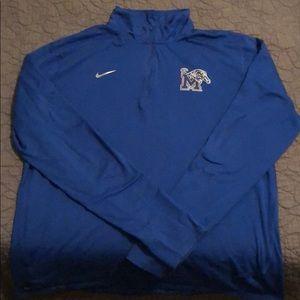 Nike Memphis Tigers 1/4 Zip Dri-Fit XL
